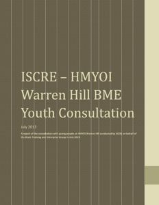thumbnail of HMYOI Warren Hill BME Youth Consultation