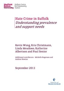 thumbnail of Hate Crime in Suffolk